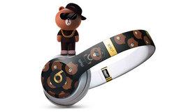 预售!Beats布朗熊头戴式无线耳机 LINE Friends特别版