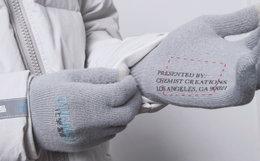 C2H4 Workwear手指拼接化学制品男女员工手套