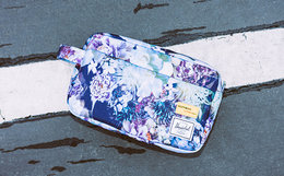 Herschel x Hoffman联名植物花卉男女手拿包手提包
