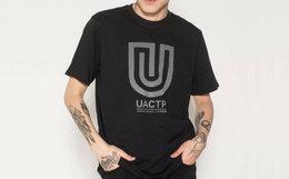 4.9折!美潮Undefeated U型logo印花短袖T恤