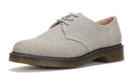 2.9折!Dr.Martens 3孔系带低帮帆布休闲鞋