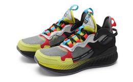 新品!New Balance 撞色半透明多材质Test Run男跑步鞋