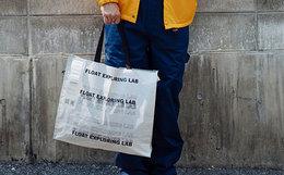 国潮FLOAT大容量男女字母单肩包便携手提包