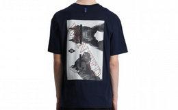新品!余文乐潮牌MADNESS动物照片印花圆领男短袖T恤