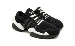 新品!Y-3网面拼接系带男女同款低帮运动鞋休闲鞋
