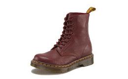 Dr.Martens 马汀博士经典荔枝纹软皮8孔马丁靴男女高帮靴