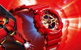 新品!casio G-SHOCK复仇者联盟限量款运动男女手表
