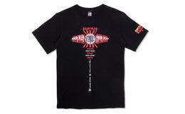 4折!SSUR PLUS X VSW 联名logo字母印花男女短袖T恤