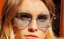 新品8折!JINS睛姿防紫外线金属八边形框太阳镜