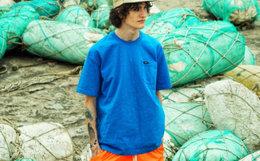 新品!余文乐潮牌  MADNESS 冲浪系列口袋男短袖T恤