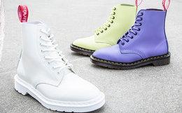 新品联名!Dr.Martens X Undercover联名牛皮8孔女马丁靴