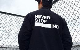 新品!THE NORTH FACE日本北面翻领logo男教练夹克