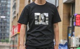 用券更优惠!美潮DCSHOECOUSA大logo印花短袖T恤