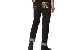 新品!EVISU KURO海鸥骷髅牛仔裤 专柜同款