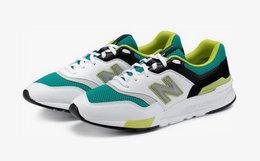 新品!New Balance 997H系列网面撞色拼接男女运动鞋