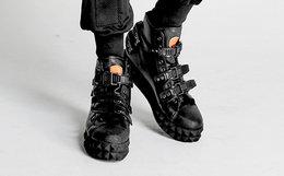 台湾OUTERSPACE外太空潮牌机械构成忍者鞋