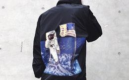 6折!THE R1VAL宇航员薄款教练夹克外套