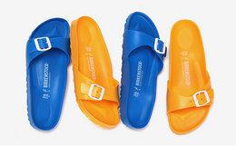 用券优惠!德国Birkenstock女款多色糖果色EVA轻质拖鞋凉鞋