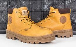 新品6.3折!PALLADIUM帕拉丁圆头加绒马丁靴女短靴
