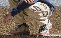新品!Herschel x New Balance 联名801拼接户外运动鞋