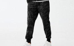 Lilbetter 新款迷彩裤修身束脚裤 T-9171-101401