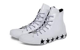 新品!CONVERSE X Miley Cyrus联名漆皮星星高帮鞋