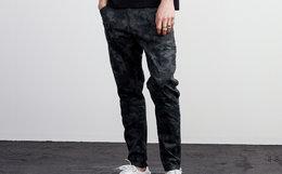 新品8.3折!Lilbetter暗纹迷彩满印牛仔裤
