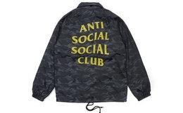 用券优惠!ANTI SOCIAL SOCIAL CLUB多色印花教练夹克外套